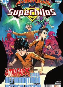 SEGUNDA MANO: Las aventuras de los Superhijos núm. 07