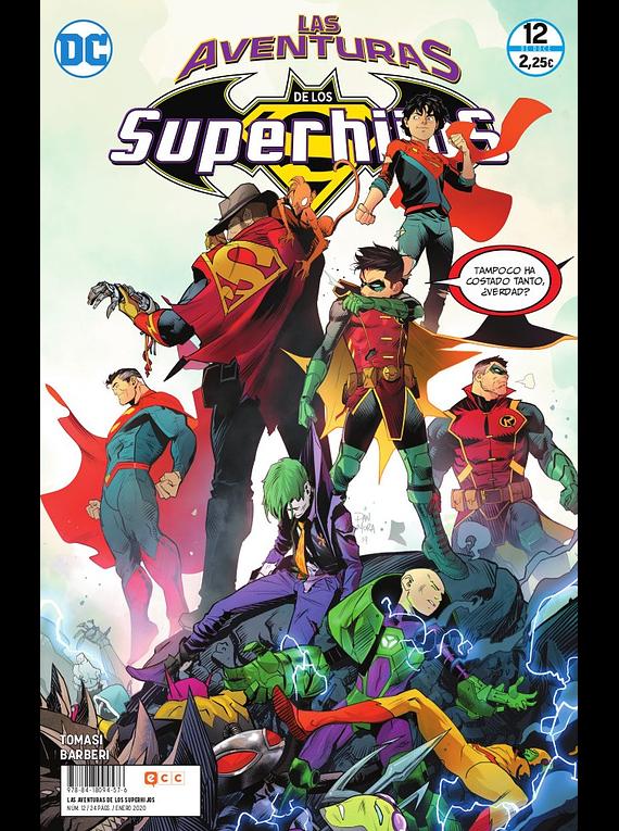 Las aventuras de los Superhijos núm. 12