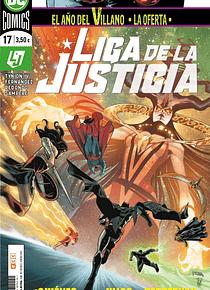 Liga de la justicia núm. 95/17