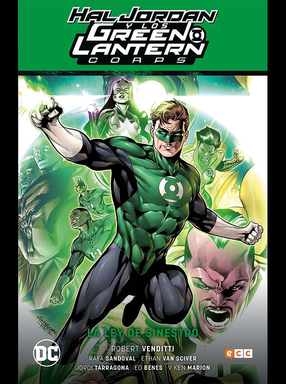 Hal Jordan y los Green Lantern Corps: La ley de Sinestro / Renacimiento parte 1