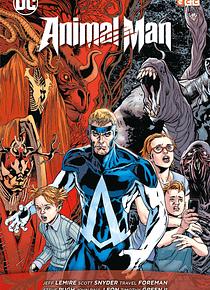 Animal Man: El reino rojo