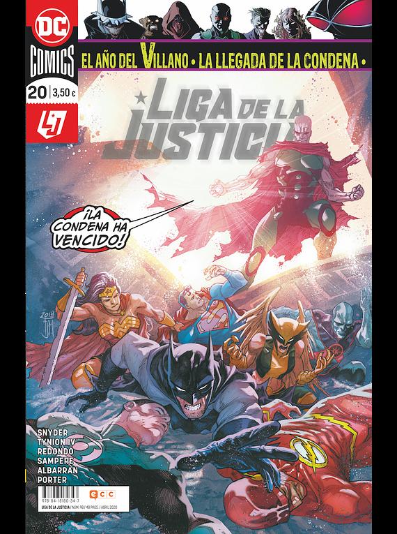Liga de la justicia núm. 98/20