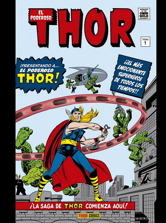 El poderoso Thor 1. La saga comienza