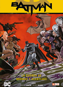 Batman vol. 6: La guerra de bromas y acertijos (Batman Saga - Renacimiento parte 6)