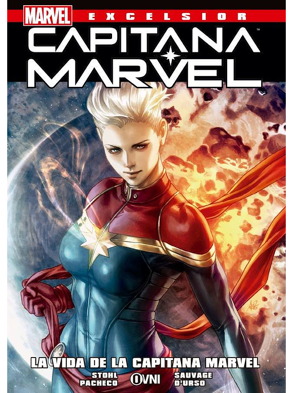 MARVEL-EXCELSIOR: CAPITANA MARVEL -La Vida de la Capitana Marvel