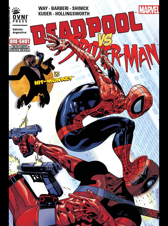 MARVEL - ESPECIALES - Deadpool vs Spider-Man (Tomo único)