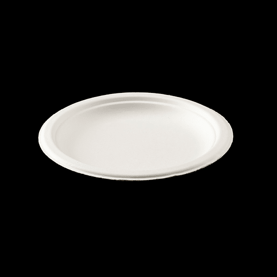 PLATO BIODEGRADABLE 6´´ 15CM  50 UN.