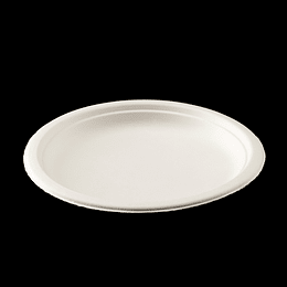 PLATO BIODEGRADABLE 7´´ 18CM  50 UN