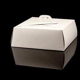 CAJA DE TORTA MINI BLANCA 110X110X450
