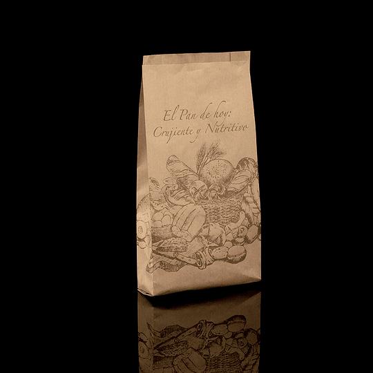 SACO KRAFT CAFÉ 400 (IMPRESA GENERICA)