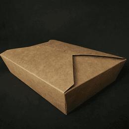 CAJA KRAFT CIERRE CRUZADO 1500 ML
