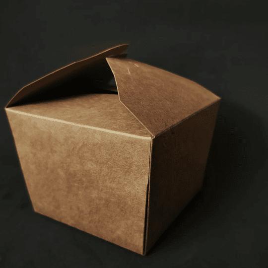 CAJA KRAFT CIERRE CRUZADO 1200 ML