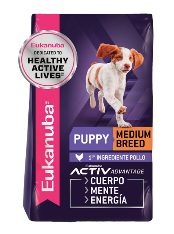 Eukanuba - Cachorros - Raza mediana
