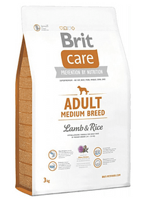Brit Care - Adult - Medium Breed - Lamb and Rice
