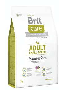Brit Care - Adult - Small Breed - Lamb and Rice