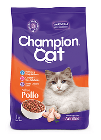 Champion Cat - Adulto - Pollo - 20kg