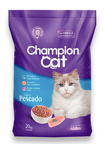 Champion Cat - Adulto - Pescado - 20kg