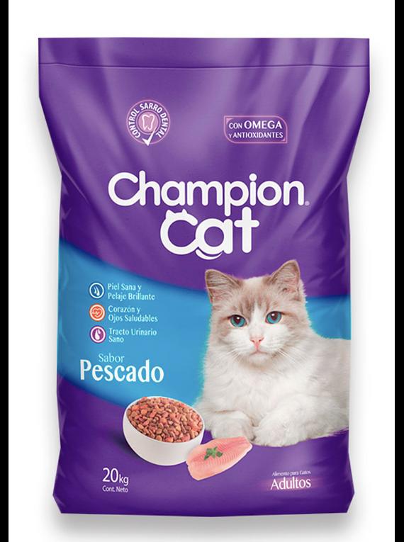 Champion Cat - Adulto - Pescado - 20kg