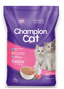 Champion Cat - Gatitos - 20kg