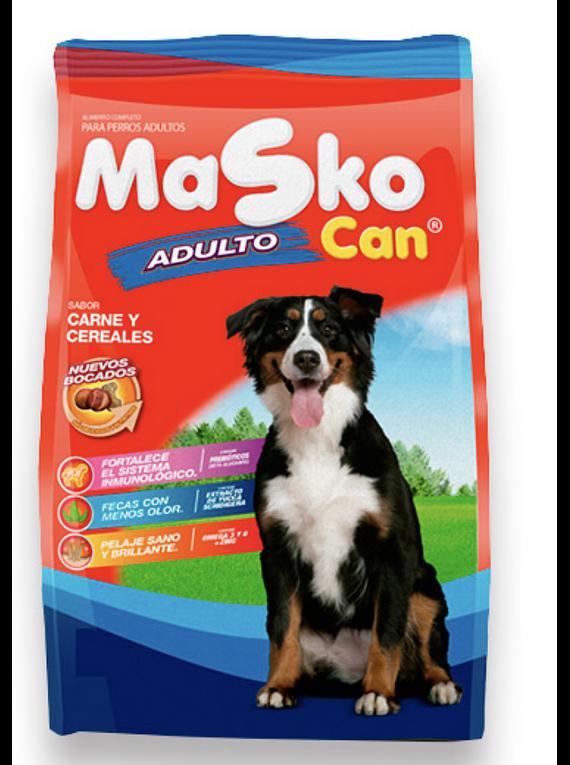 Masko Can - Adulto - Carne y Arroz