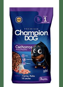 Champion Dog - Cachorros - Raza Pequeña - 18kg