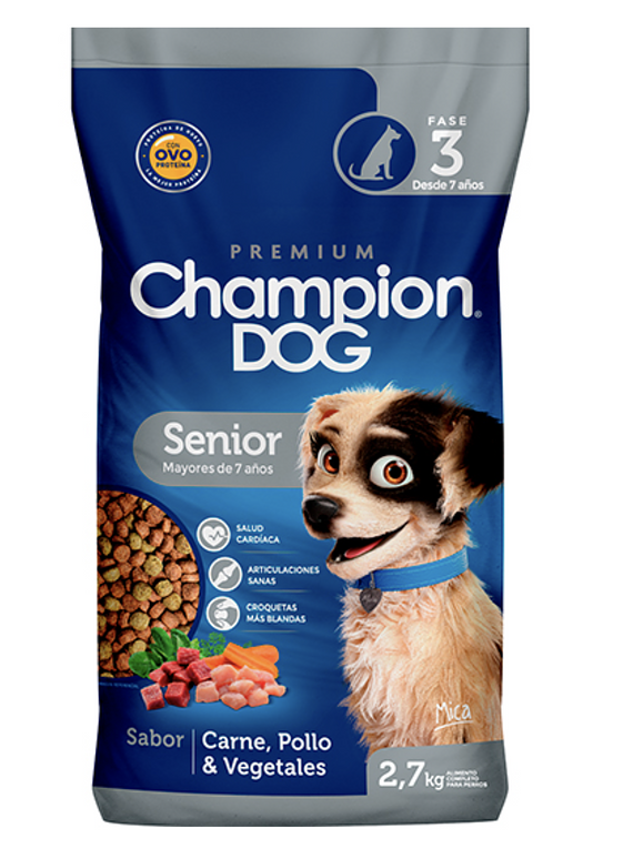 Champion Dog - Senior