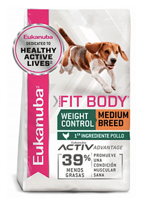 Eukanuba - Weight Control - Adulto Razas Medianas