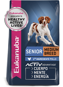 Eukanuba - Adulto Senior - Raza Mediana