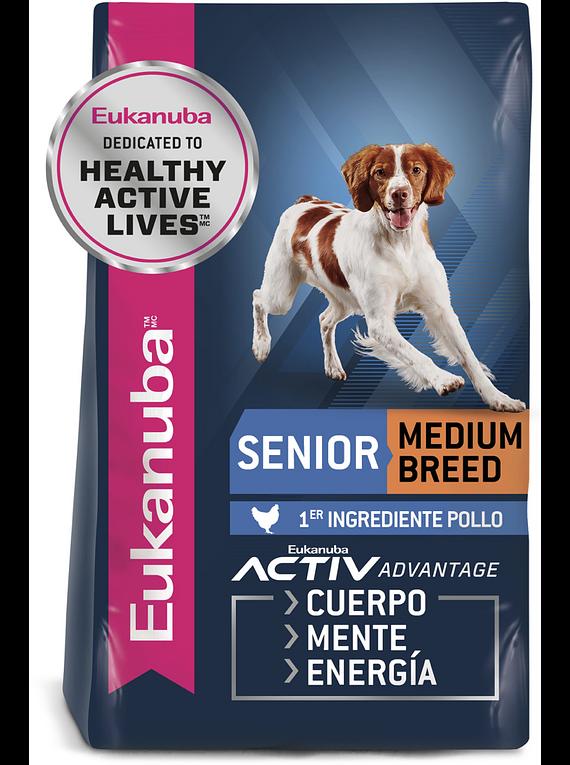 Eukanuba - Adulto Senior - Raza Mediana