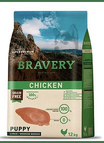 Bravery - Chicken - Cachorro Raza Grande Y Mediana