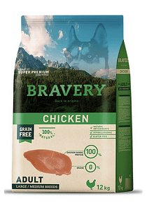 Bravery - Chicken - Adult Large and Medium Breed
