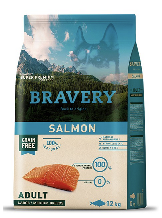 Bravery - Salmon - Adult - Large and Medium Breed
