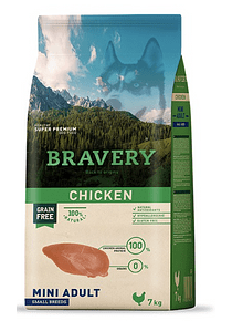 Bravery - Chicken - Mini Adult Small Breed