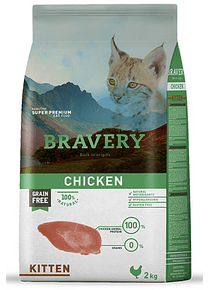 Bravery - Chicken - Kitten