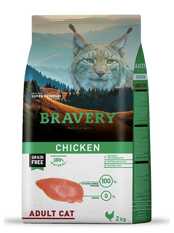 Bravery - Chicken - Adult Cat