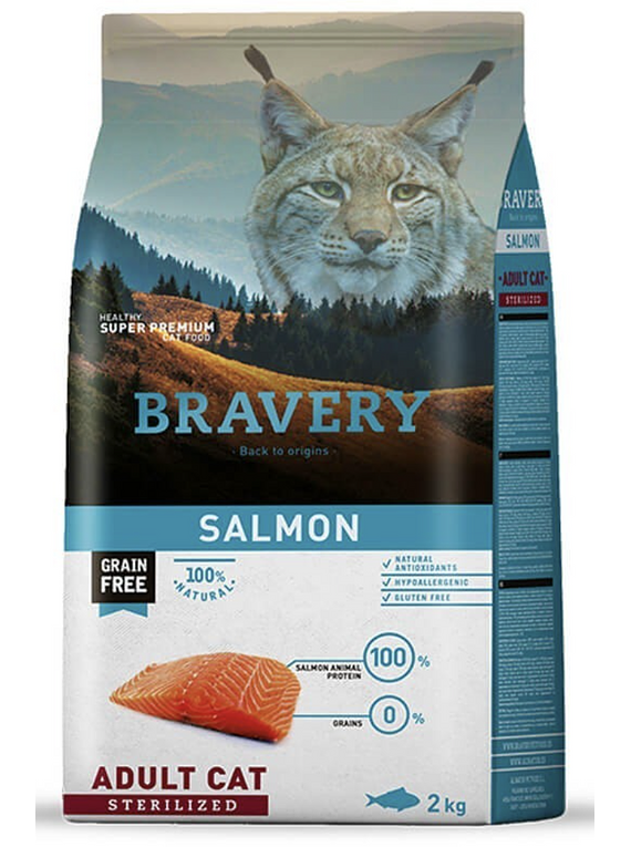 Bravery - Salmon - Adult Cat Sterilized