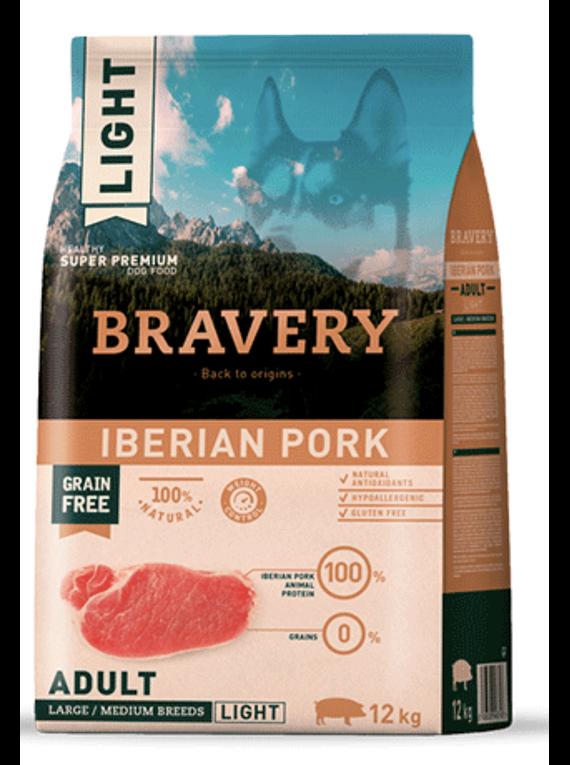 Bravery - Light Iberian Pork - Adult Large and Medium Breed