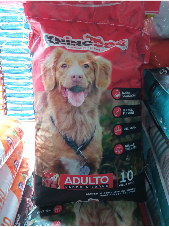 Knino Dog - Adulto - Sabor Carne