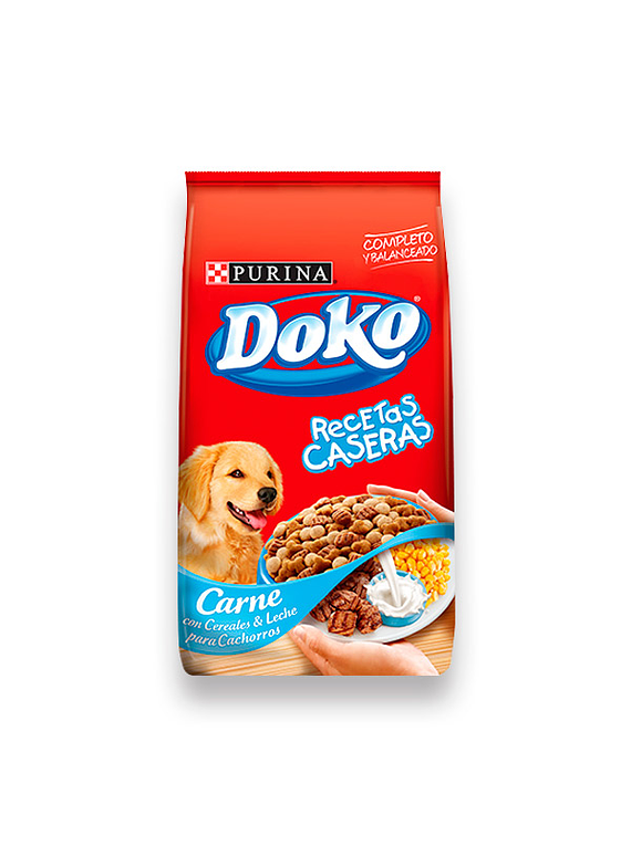 Doko - Cachorro - Carne Leche y Cereales