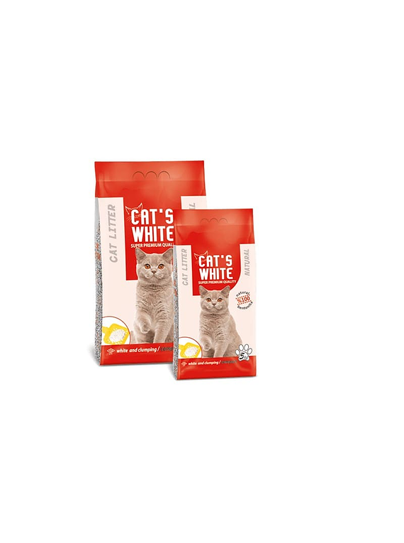 Arena Sanitaria - Cat's White - Neutra - 10kg