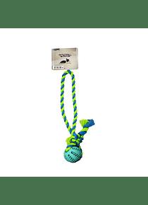Pelota Con Cuerda y Dientes - Warrior