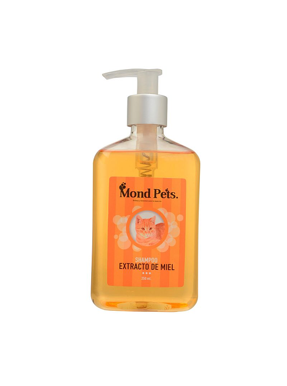 Shampoo Extracto De Miel Para Gatos 250ml - Mondpets