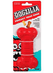 Squeaky Treat Bone - Dogzilla