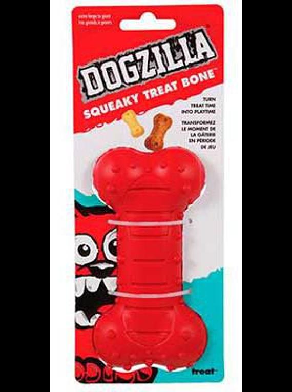 Squeaky Treat Bone - Dogzilla