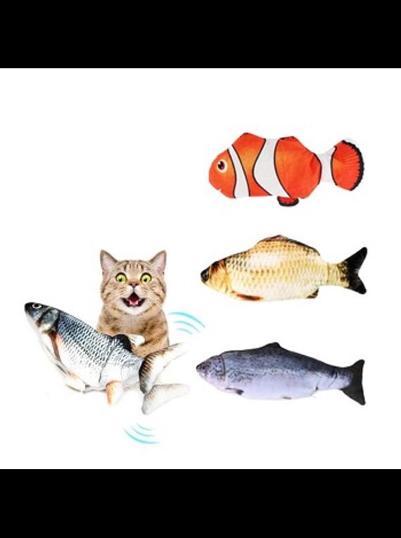 Peluche - Pescado Con Movimiento