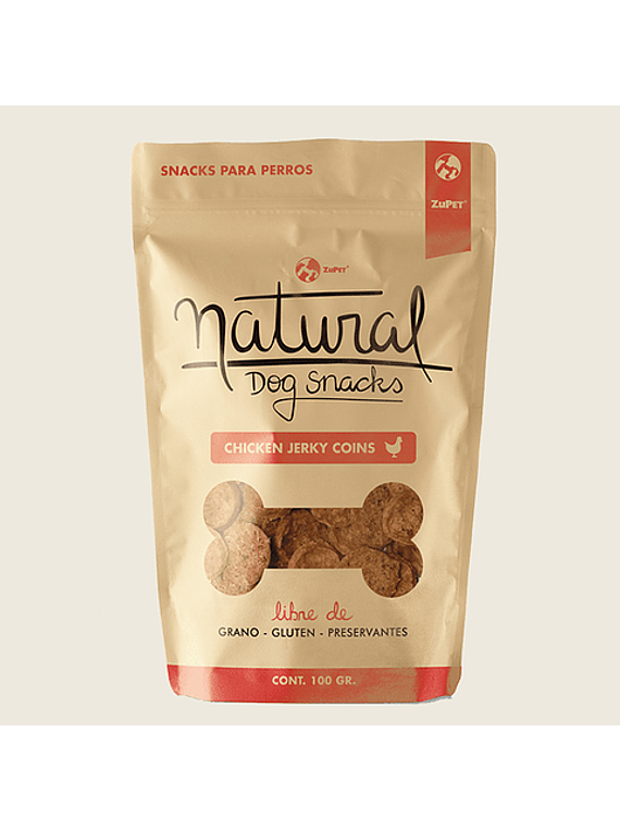 Natural - Chicken Jerky Coins
