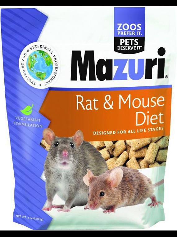 Mazuri - Rat & Mouse Diet - 900Gr