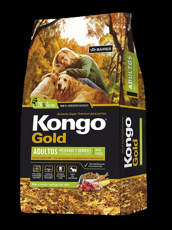 Kongo Gold - Adultos - Medianos y Grandes - 21Kg