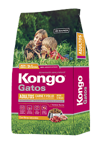 Kongo - Gatos - Carne y Pollo - 8Kg