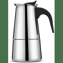 Cafetera Italiana Moka - Inox 6 tazas